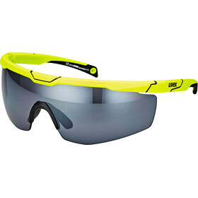 UVEX Sportstyle 117 Sportsbriller, yellow/silver
